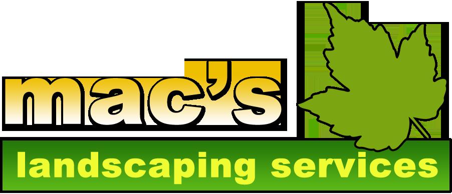 Macs Landscaping Logo